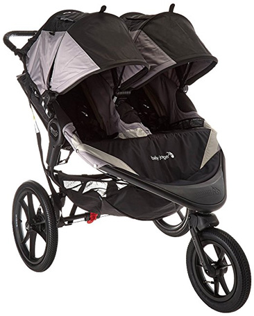 Baby Jogger Black/Gray 2016 Jogging Stroller Review (Summit X3 Double)