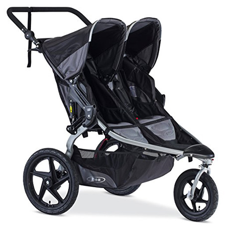 BOB Black 2016 Jogging Stroller Review (FLEX Duallie)