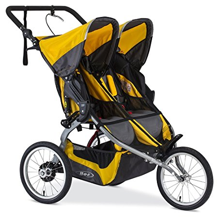 BOB Yellow 2016 Jogging Stroller Review (Ironman Duallie)