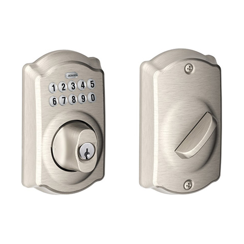 Schlage BE36VCAM619 Camelot Keypad Deadbolt Review