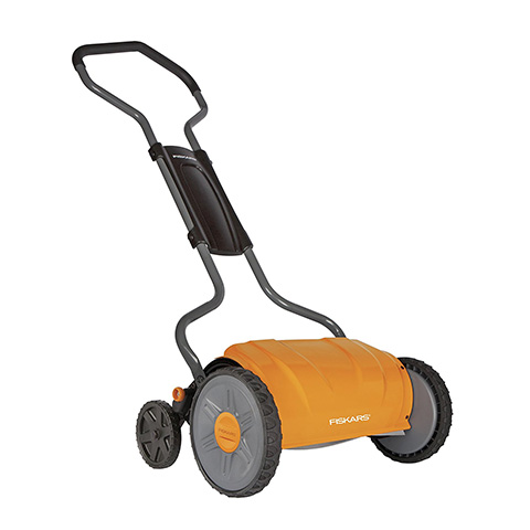 Fiskars 17 Inch StaySharp Push Reel Lawn Mower Review