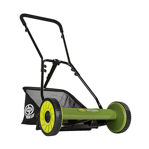 Sun Joe MJ500M Mow Joe 16-Inch Reel Mower with Catcher Review