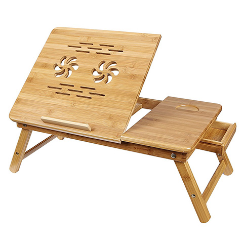 SONGMICS ULLD001 Bamboo Serving Bed Tray Table Review