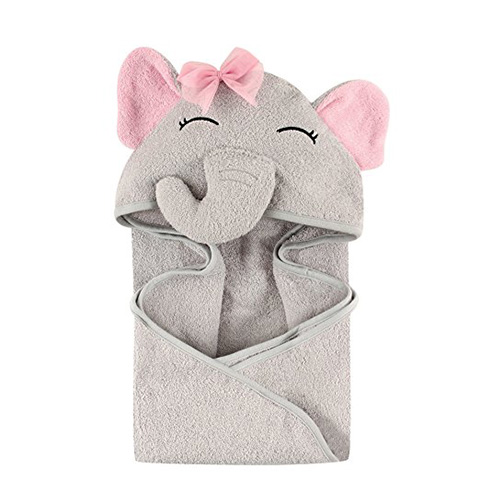 Hudson Baby Pretty Elephant Hooded Towel Review