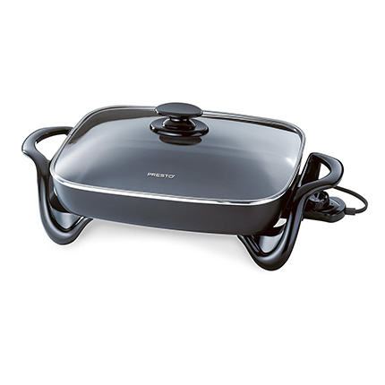 Presto 16-Inch Electric Skillet with Glass Cover Review