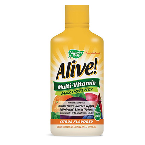 Nature's Very Alive! Multivitamin Citrus Flavor Liquid Review