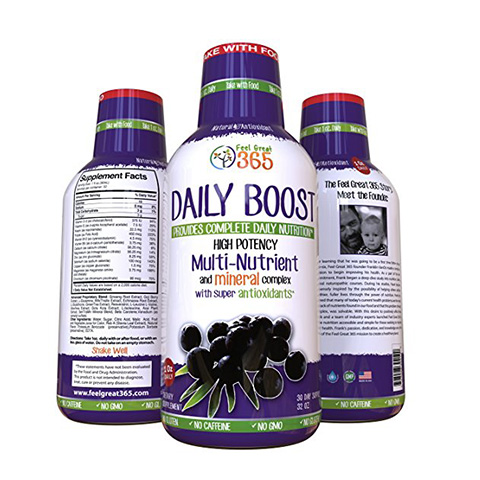 Feel Great 365 Doctor Formulated Ultra-Premium Liquid Multivitamin Superfood Review