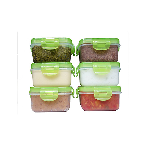 Elacra Baby Food Airtight Storage Containers Review (Pack of 6)