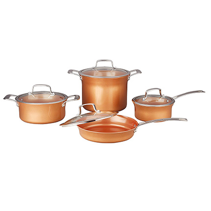 Concord Cookware 8 Piece Ceramic Coated Cookware Review