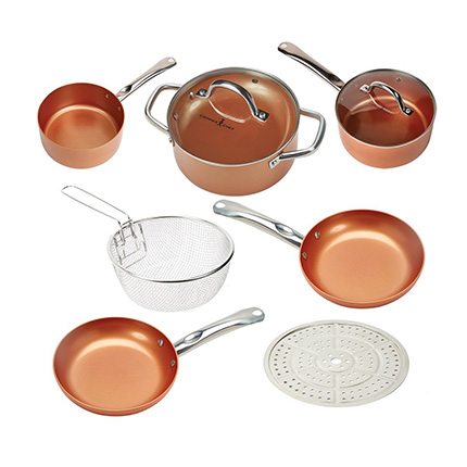 Copper Chef Round Set Review (9 Piece)