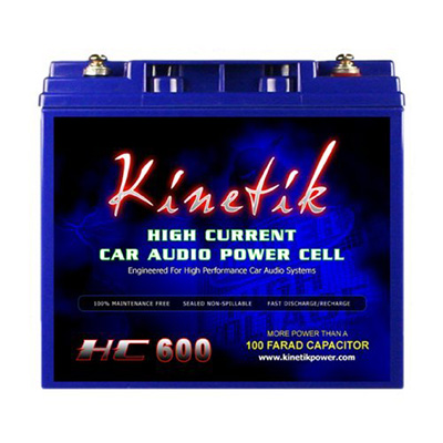 Kinetik Car Power Cell Battery Review (HC600 BLU Series)