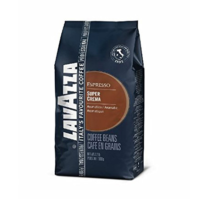 Lavazza Whole Bean Coffee Blend Review (Super Crema Espresso)