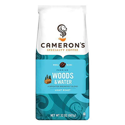 Cameron's Coffee Woods and Water Whole Bean Bag Review