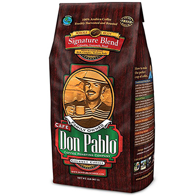 Café Don Pablo Whole Bean Coffee Review