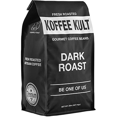 Koffee Kult Dark Roast Coffee Beans Review