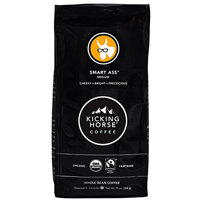 Kicking Horse Coffee Smart Ass Whole Bean Review