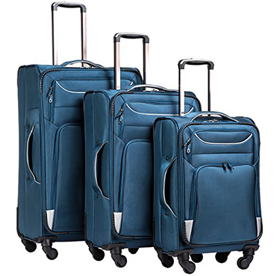 Coolife Luggage 3 Piece Set Suitcase