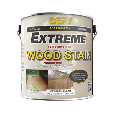 Defy Crystal Clear Exterior Stain Review