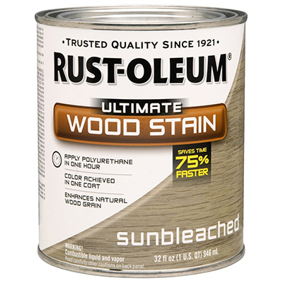 Rust-Oleum Sunbleached Wood Stain Review