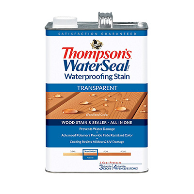 Thompson's Waterseal Transparent Stain Review
