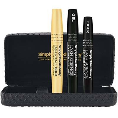 Simply Naked Beauty 3D Fiber Lash Mascara with Eyelash Enhancing Serum