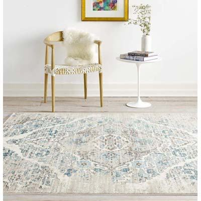 Persian Area Rugs 4620 Distressed Cream