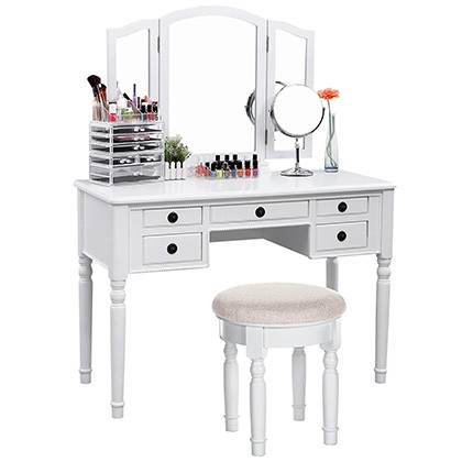 7. SONGMICS Vanity Set (URDT108M)