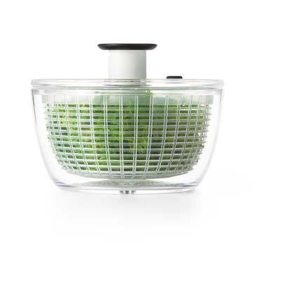 2. OXO Good Grips Little Salad & Herb Spinner