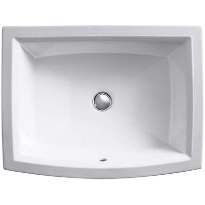 10. Kohler K-2355-0 Undercounter Bathroom Sink