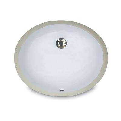 7. Nantucket Sinks UM-13x10-W Undermount Vanity Sink