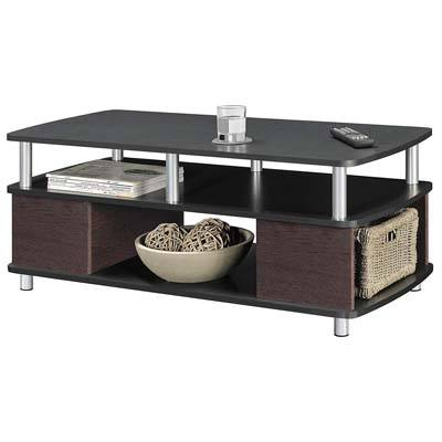 Ameriwood Home 5094196 Coffee Table (Cherry/Black)