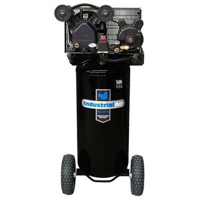 8. Industrial Air IL1682066.MN 20-Gallon Belt Driven Air Compressor