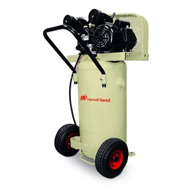 1. Ingersoll-Rand Garage Mate P1.5IU-A9 2 HP 20 Gallon Single Stage Portable Air Compressor