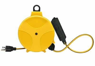 7. Designers Edge 20-Foot Retractable Extension Cord Reel Review