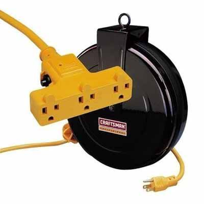 5. Craftsman 30-foot Retractable extension Cord Reel Review