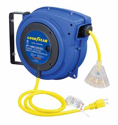8. Goodyear Extension Cord Reel Review