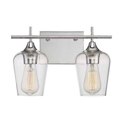 Savoy House Octave 2 Light Bath Bar 8-4030-2-11 in Polished Chrome Review