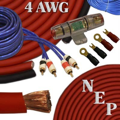 5. New England Providore 4 Gauge Amp Kit