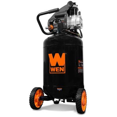 7. WEN 2202 20-Gallon Oil-Lubricated Portable Vertical Air Compressor