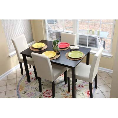 10. LIFE HOME 4 Person Table and Chairs