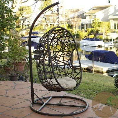 8. Best-selling Egg-Shaped Outdoor Swing Chair