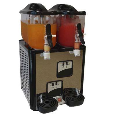 3. Margarita Girl Double-Bowl Mini Size Slush Machine