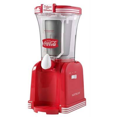 8. Nostalgia 32-Ounce Slush Drink Maker (RSM650COKE)