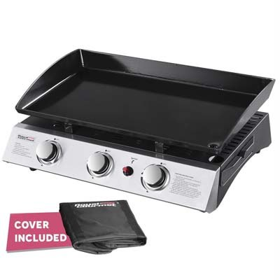 6. Royal Gourmet 3-Burner Propane Gas Grill Griddle (PD1300)