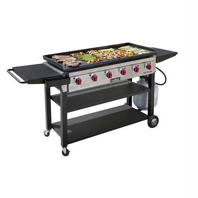 5. Camp Chef Flat Top Grill Outdoor Griddle FTG900, Black