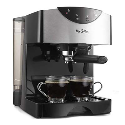 2. Mr. Coffee Automatic Dual Shot Espresso System