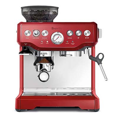 8. Breville the Barista Express Coffee Machine, BES870CBXL