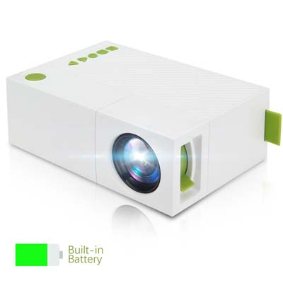 3. Deeplee Mini Mobile Projector