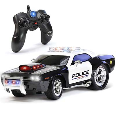 2. KidiRace Remote Control Police Car