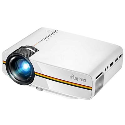5. ELEPHAS LED Movie Projector